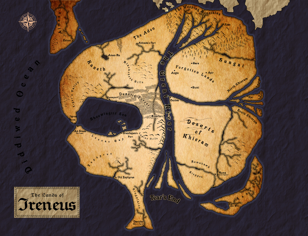 Map of ireneus