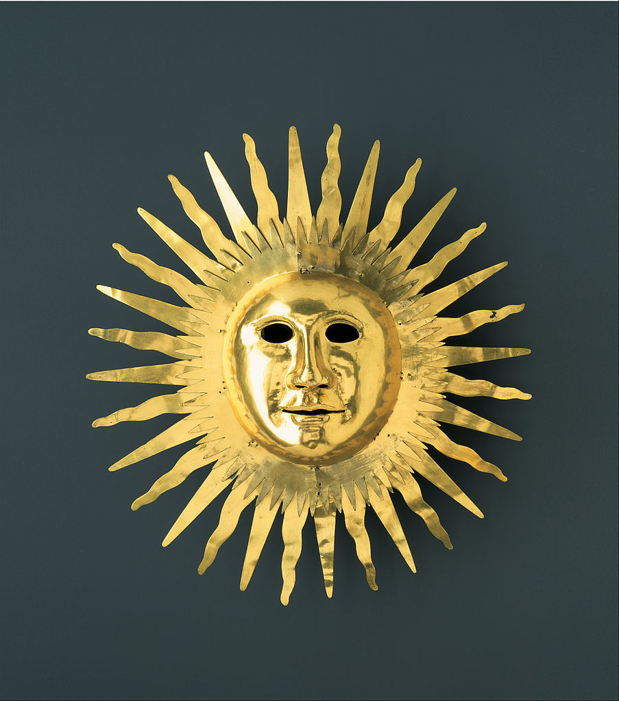 903px johann melchior dinglinger   sun mask with facial features of august ii (the strong) as apollo  the sun god   google art project