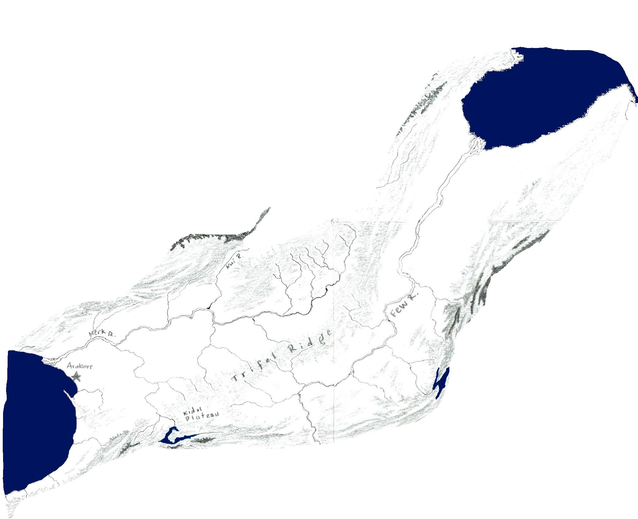 Rudenian rift valley