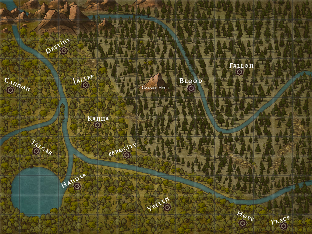 The forest map
