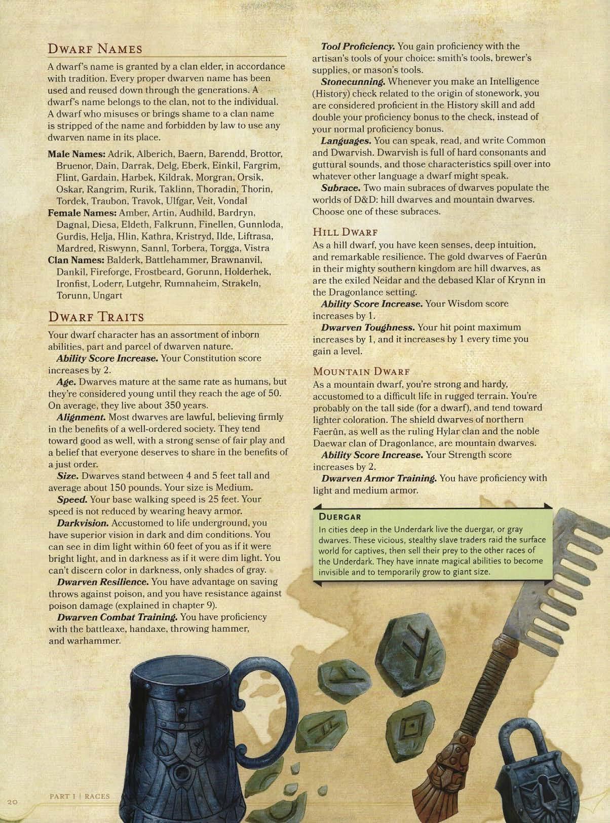 Dwarf description 3