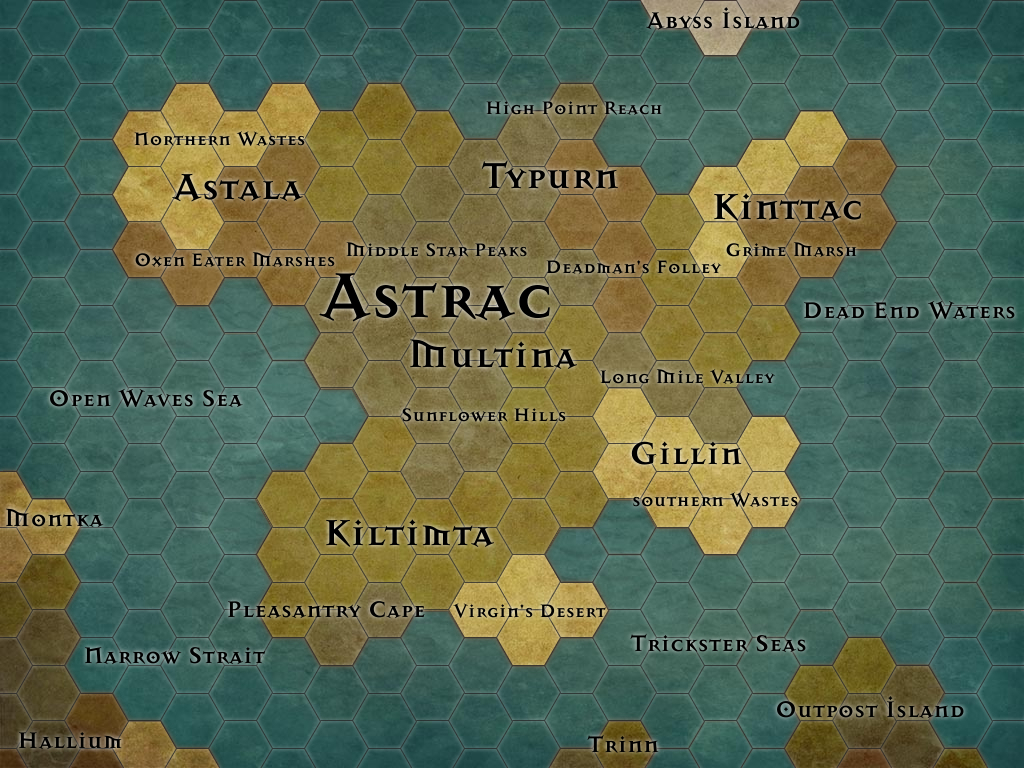 Astrac map