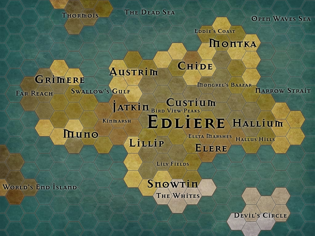 Edliere map
