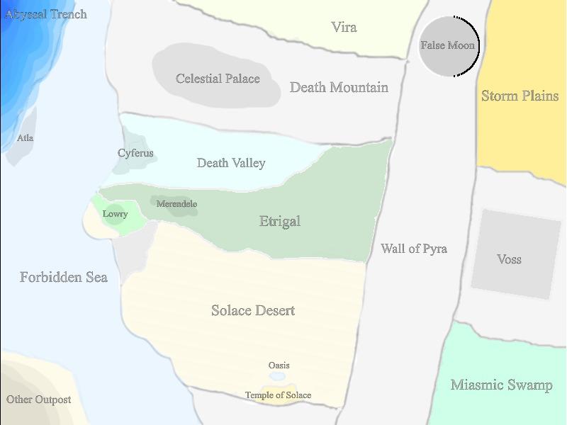 Neshque map