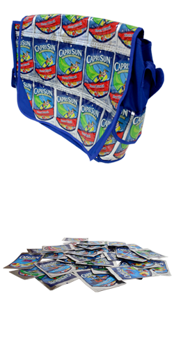 Product image for Capri Sun® Drink Pouch Messenger Bag