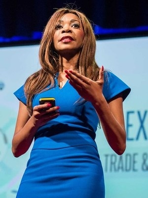 Dambisa Moyo black men business, economy, women technology
