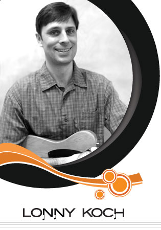 Meet Lonny Koch, guitar instructor at South Island Studio