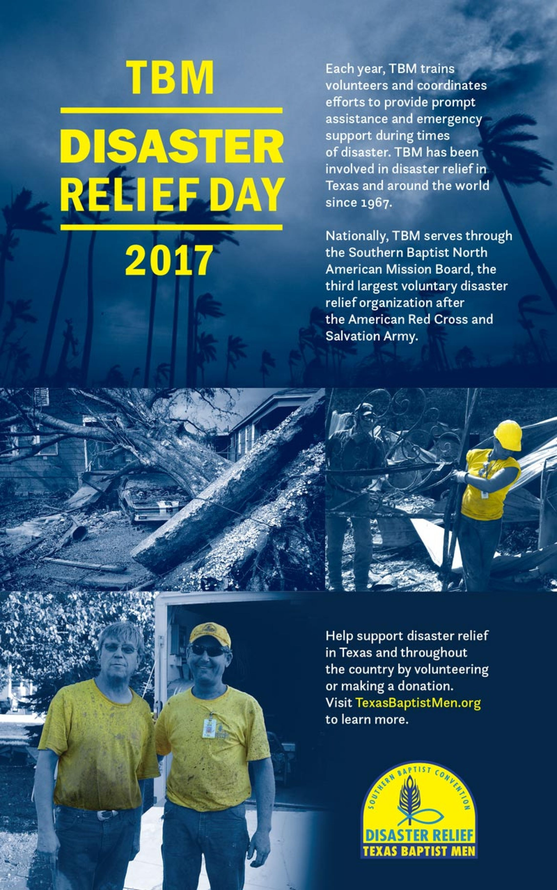 Texas baptists june 25 tbm disaster relief day bulletin insert sciox Gallery