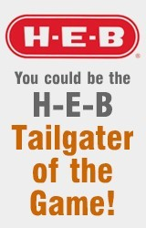 H-E-B Tailgater of the Game