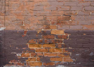 Painted brick 0034