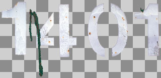 Letters and numbers decals 0001