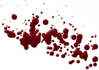 Blood splatters 0006