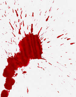 Blood splatters 0015