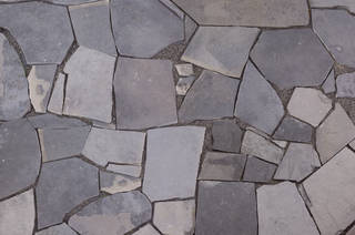 Patio Tiles on ruins texture