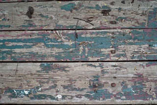 Painted and peeling wood 0006