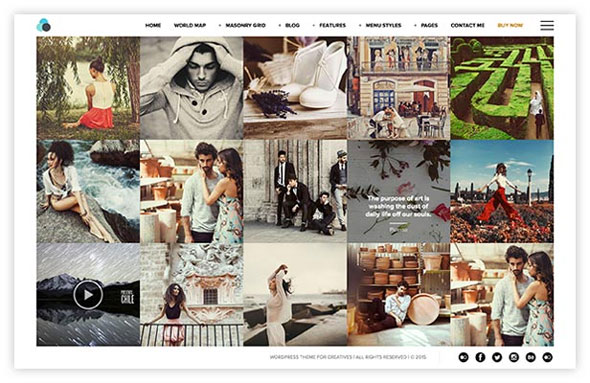 Photography Portfolio, Blog & Shop for Creatives