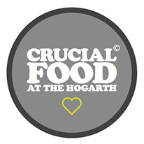Crucial Cafe at The Hogarth Logo