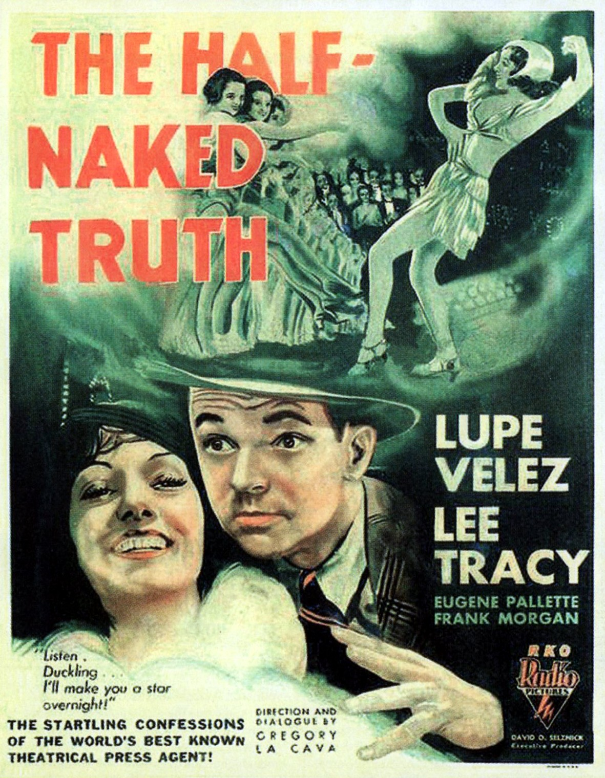The Half Naked Truth poster