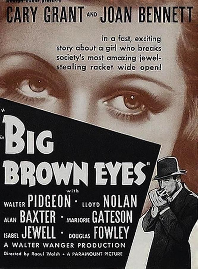 Big Brown Eyes poster
