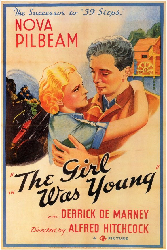 The Girl Was Young poster