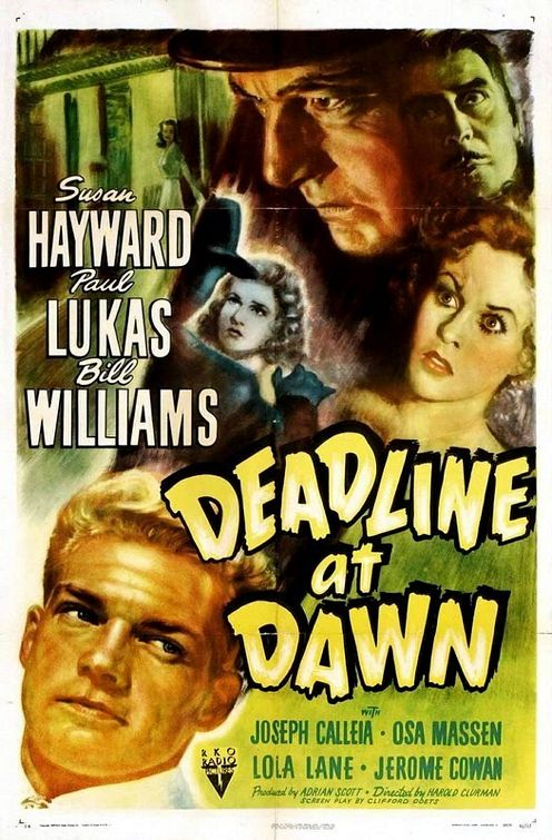 Deadline at Dawn poster