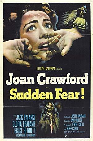 Sudden Fear poster