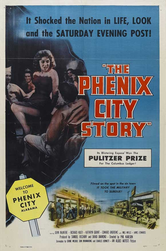 The Phenix City Story poster