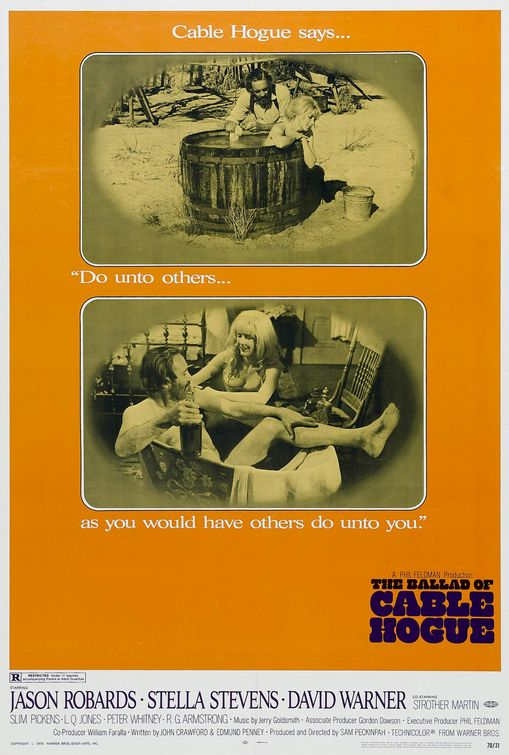 The Ballad of Cable Hogue poster