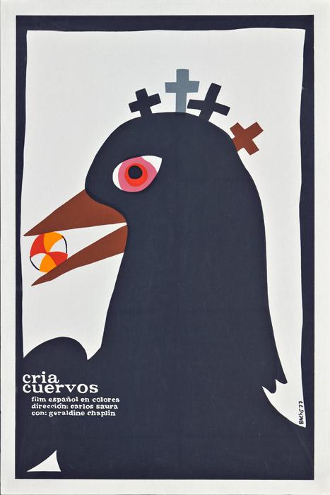 Cria Cuervos poster