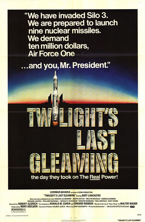 Twilight's Last Gleaming poster