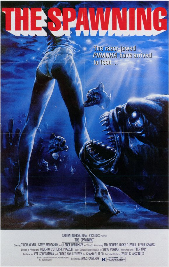 Piranha Part Two: The Spawning poster