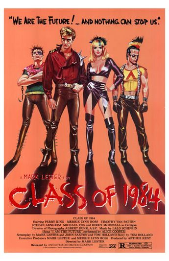 Class of 1984 poster