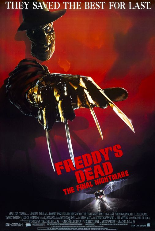 Freddy's Dead: The Final Nightmare poster