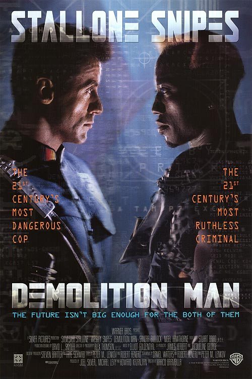 Demolition Man poster