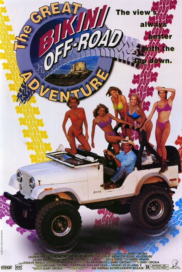 The Great Bikini Off-Road Adventure poster