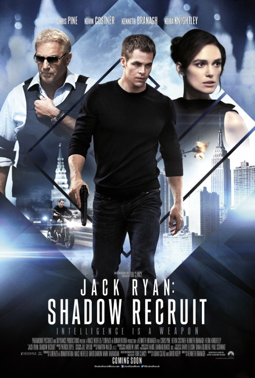 Jack Ryan: Shadow Recruit poster