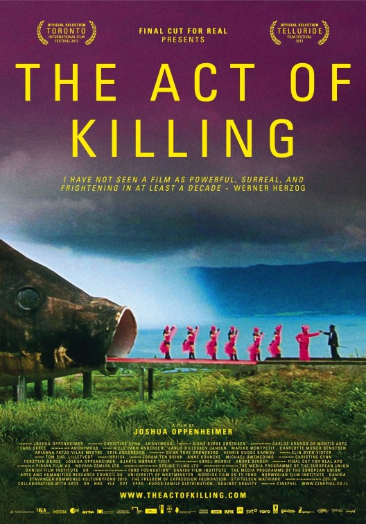 The Act of Killing poster