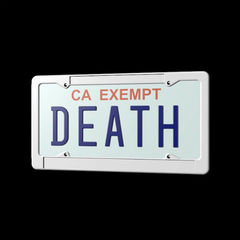 Death grips government plates