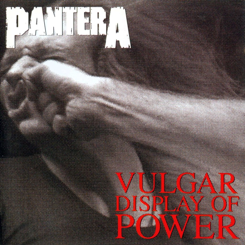 Pantera vulgar display of power