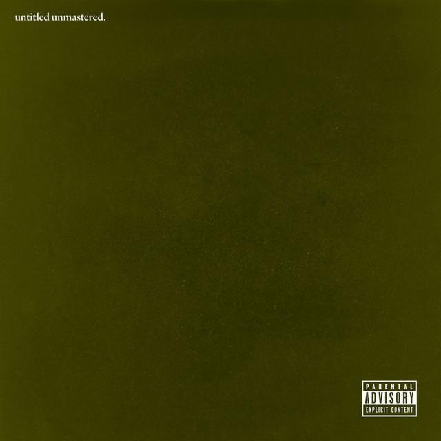 Kendrick lamar untitled unmastered cover art