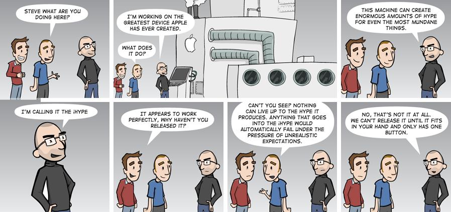 Steve Job's ihype