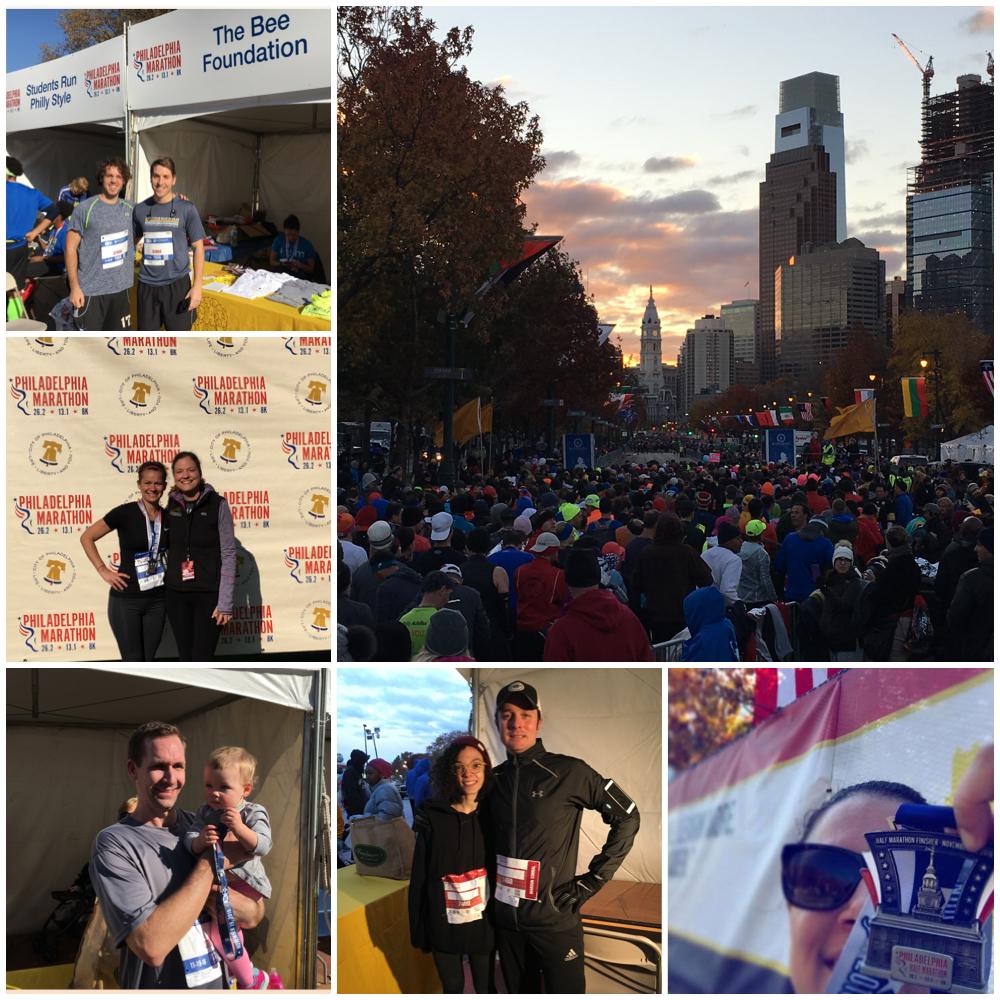 the bee foundation philadelphia marathon