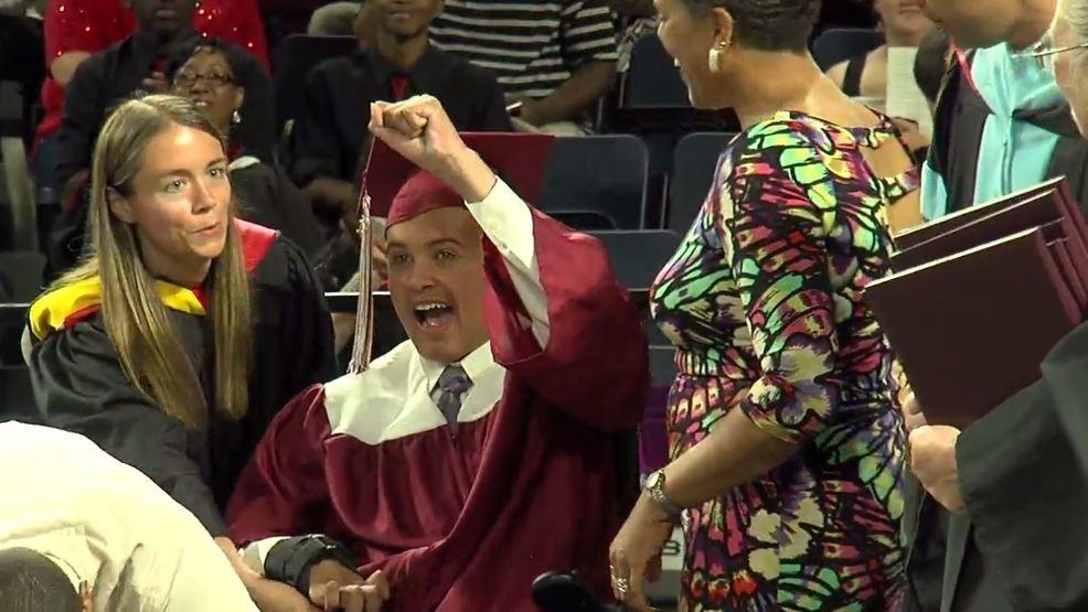amherst casey graduation brain aneurysm