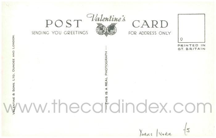 Postcard back