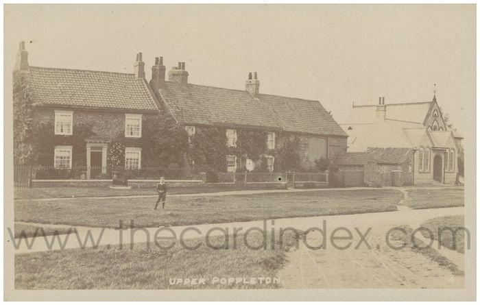 Postcard front: Upper Poppleton