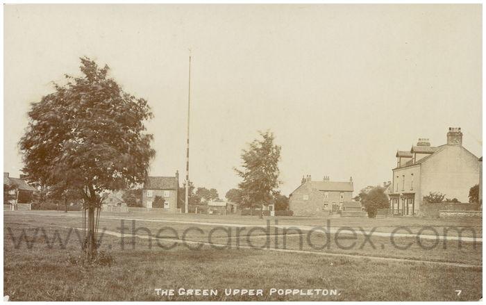 Postcard front: The Green Upper Poppleton