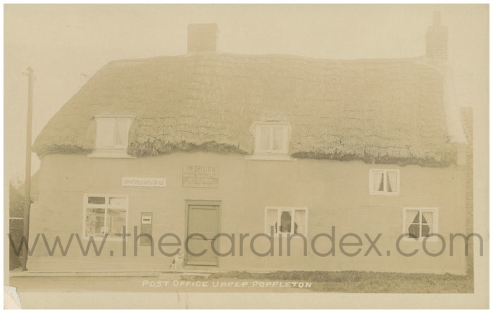 Postcard front: Post Office Upper Poppleton