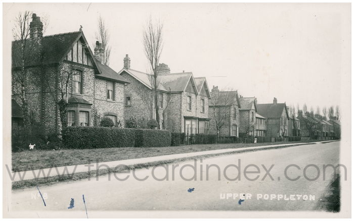 Postcard front: Upper Poppleton