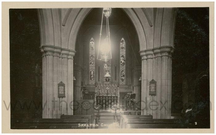 Postcard front: Skelton Church