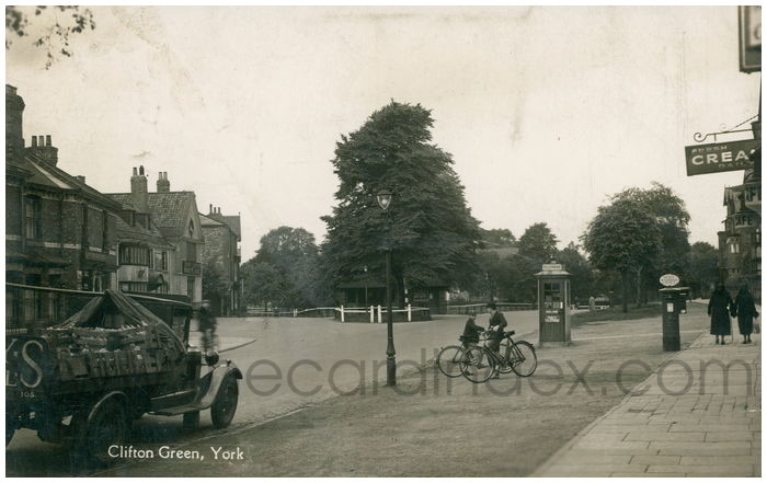 Postcard front: Clifton Green, York